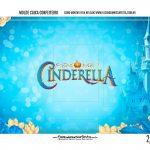 Caixa Mini Confeiteiro Cinderella parte de dentro
