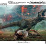 Caixa Mini Confeiteiro Dinossauro dentro