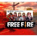 Caixa Mini Confeiteiro Free Fire Parte de cima