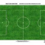 Caixa Mini Confeiteiro Futebol parte de dentro