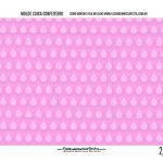 Caixa Mini Confeiteiro Galinha Pintadinha Rosa parte de dentro