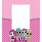Caixa Kit Mini Confeiteiro Personagens Lol Surprise parte de cima