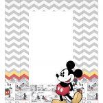 Caixa Mini Confeiteiro Mickey Vintage parte de cima