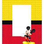 Caixa Mini Confeiteiro Mickey parte de cima