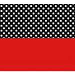 Caixa Mini Confeiteiro Minnie Vermelha parte de baixo