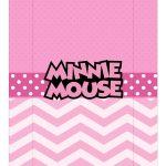 Caixa Mini Confeiteiro Minnie parte de baixo
