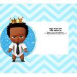 Caixa Mini Confeiteiro Poderoso Chefinho Afro cima