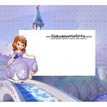 Caixa Mini Confeiteiro Princesa Sofia parte de cima
