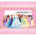 Caixa Mini Confeiteiro Princesas da disney parte de cima