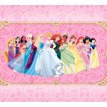 Caixa Mini Confeiteiro Princesas da disney parte de cima fechada