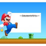Caixa Mini Confeiteiro Super Mario Bros parte de fora