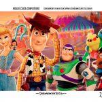 Caixa Mini Confeiteiro Toy Story 4 Parte de dentro
