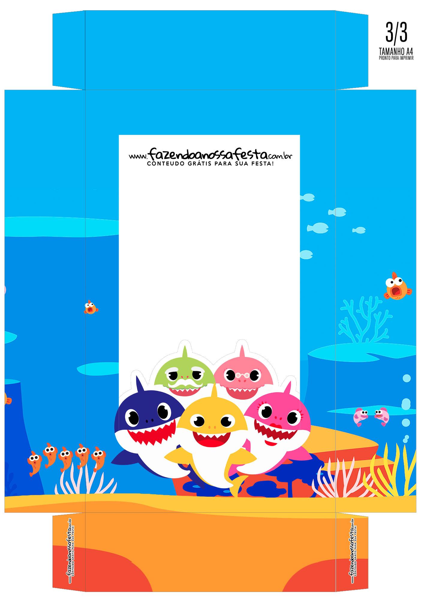 Caixa Ovo de Colher Baby Shark 01