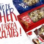 Caixa Ovo de Colher Chocolates para Páscoa Grátis para Imprimir