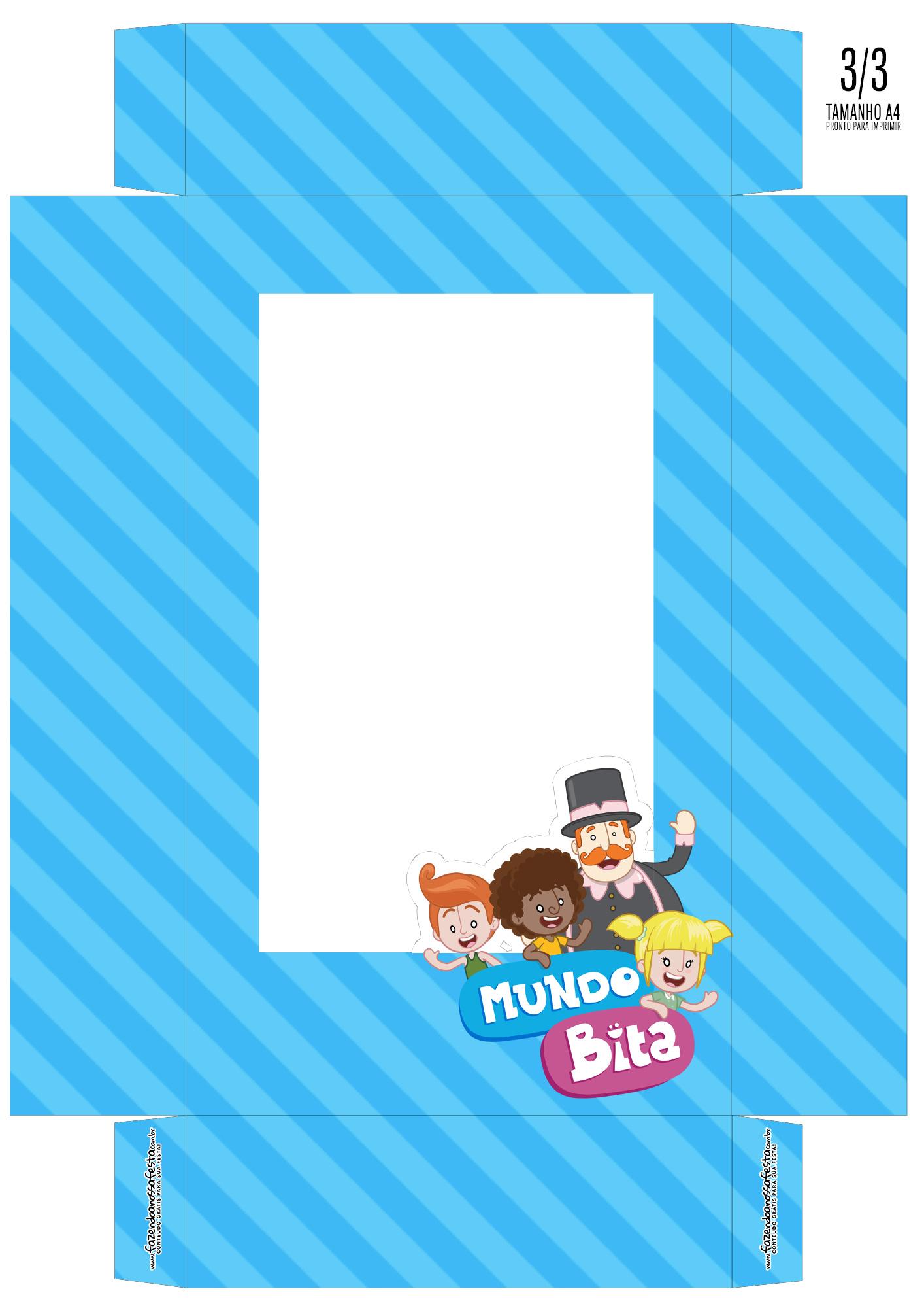 Caixa Ovo de Colher Personagens Mundo Bita_01