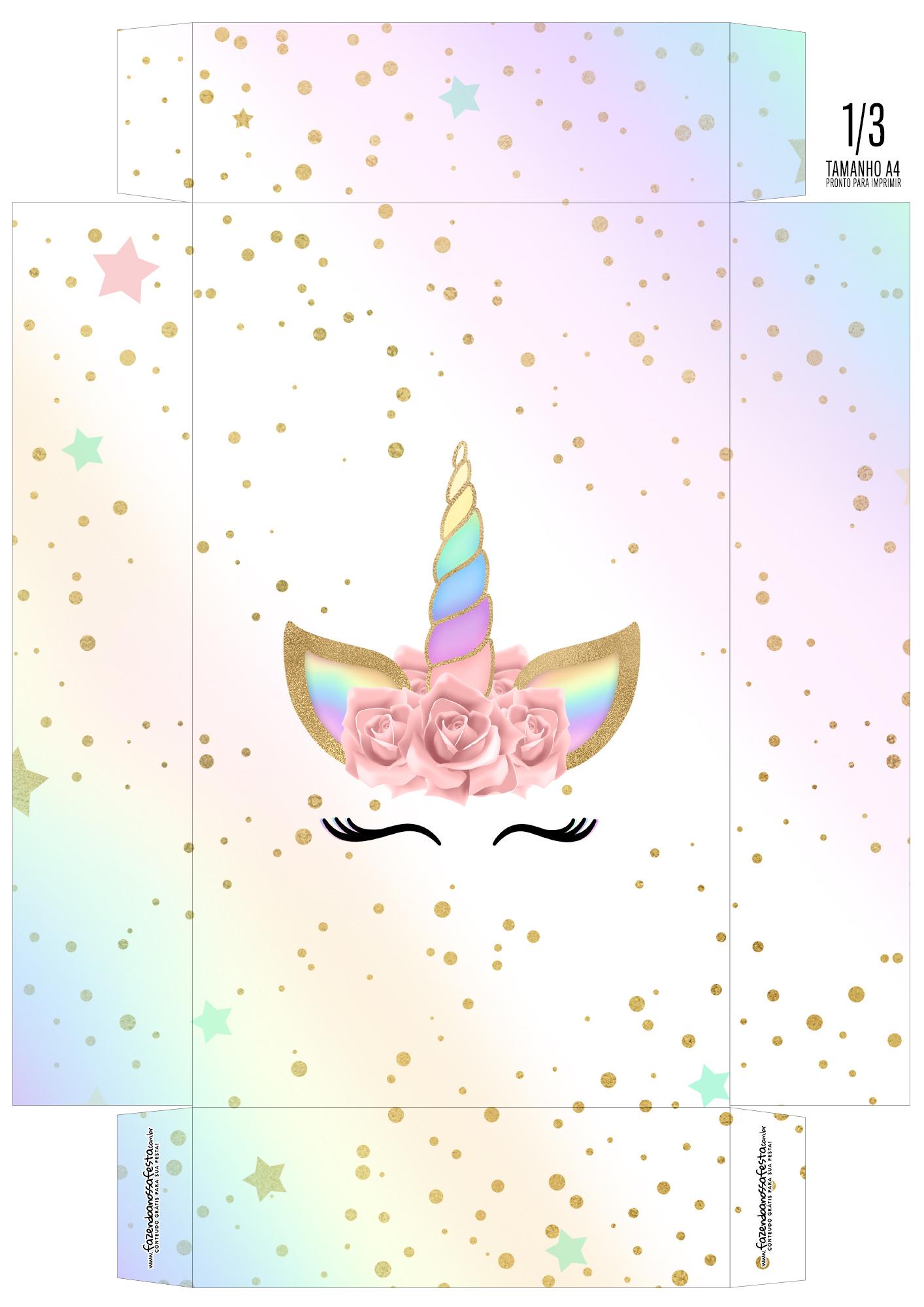 Caixa Ovo de Colher Personagens Unicornio Olhos_03