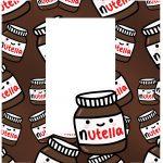 Caixa Ovo de Colher para Pascoa Nutella tampa 1