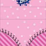Convite Bis Duplo 3D LOL Surprise
