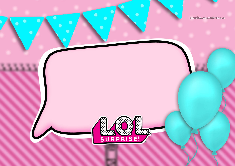 Convite LOL Surprise 6