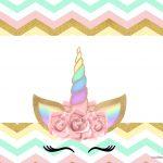 Convite para festa Unicornio Gratis
