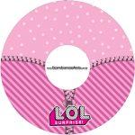 Etiqueta CD DVD LOL Surprise