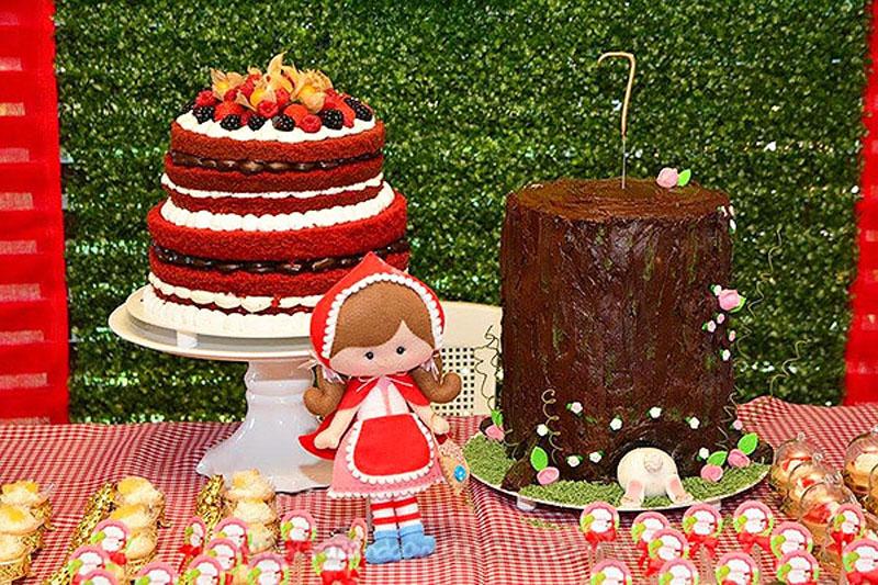 Festa Chapeuzinho Vermelho da Isabela 4