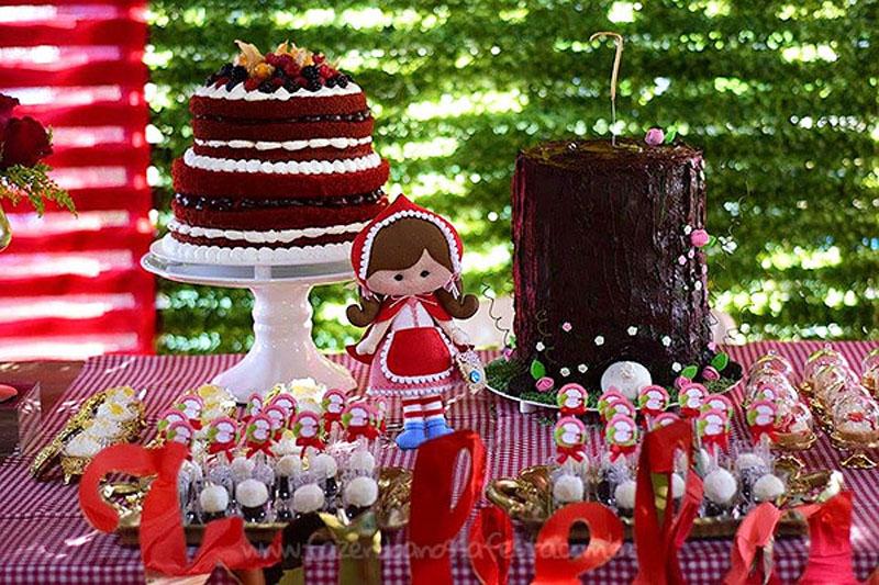 Festa Chapeuzinho Vermelho da Isabela 5