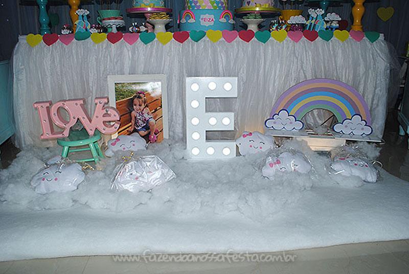 Festa Infantil Chuva de Amor da Eiza 3