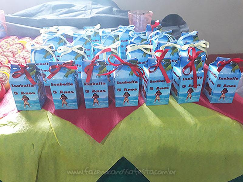 Festa Moana da Isabelle Caixa Milk