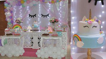 Festa Unicornio da Ana Elisa