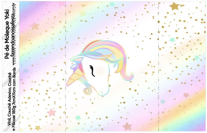 Pe de Moleque Yoki Unicornio Colorido