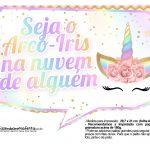 Plaquinhas Festa Unicornio Gratis 16