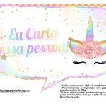 Plaquinhas Festa Unicornio Gratis 24