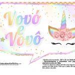 Plaquinhas Festa Unicornio Gratis 27