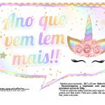 Plaquinhas Festa Unicornio Gratis 33