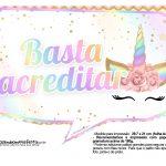 Plaquinhas Festa Unicornio Gratis 9