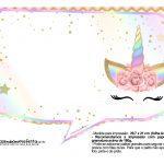 Plaquinhas Unicornio Gratis 7