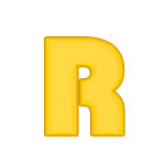 R Alfabeto Gratis Minions