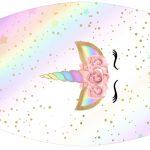 Rotulo Esmalte Unicornio Colorido