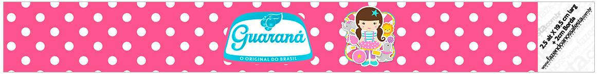 Rotulo Guarana Caculinha Circo Menina