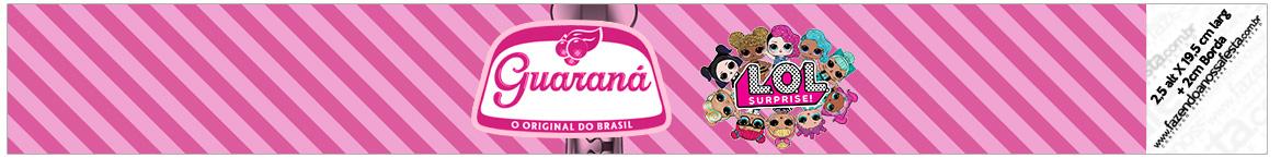 Rotulo Guarana Caculinha LOL Surprise