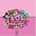 Rotulo Mini Confeti LOL Surprise