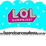 Saias Wrappers para Cupcakes 2 LOL Surprise