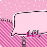 Tag Agradecimento Etiqueta LOL Surprise Kit festa