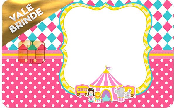 Vale Brinde Circo Menina Kit Festa