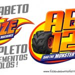 Alfabeto Blaze and The Monster Machines Grátis para Imprimir