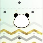 Bala Personalizada Panda Menino