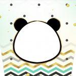 Balde de Pipoca Panda Menino