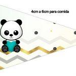 Bandeirinha Sanduiche 1 Panda Menino