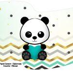 Bandeirinha Varalzinho Panda Menino